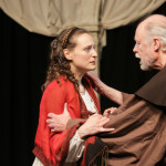 """Juliet in """"Romeo and Juliet"""" with Robert Bates. Photo by DFD Photography"""
