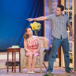 """Nina in """"Vanya and Sonia and Masha and Spike"""" with Evan D. Siegel. Photo: DFD Photography."""
