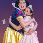 """Nina in """"Vanya and Sonia and Masha and Spike"""" with Anne-Marie Cusson. Photo: DFD Photography."""