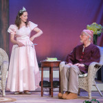 """Nina in """"Vanya and Sonia and Masha and Spike"""" with Dale Place. Photo: DFD Photography."""