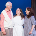 """Nina in """"Vanya and Sonia and Masha and Spike"""" with with Dale Place and Dee Nelson. Photo: DFD Photography."""